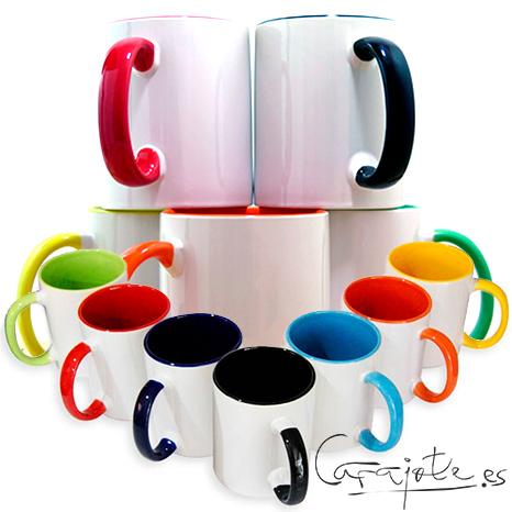 tazas de color Carajote.es diseños exclusivos de Cádiz