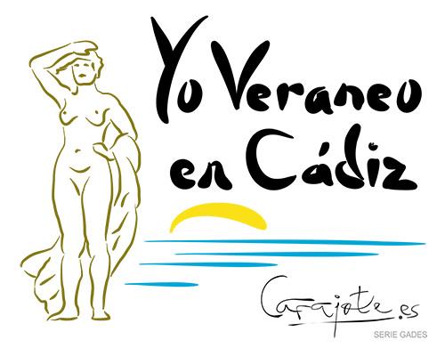 Taza GADES Yo veraneo en Cádiz