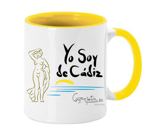 Taza GADES Yo soy de Cádiz