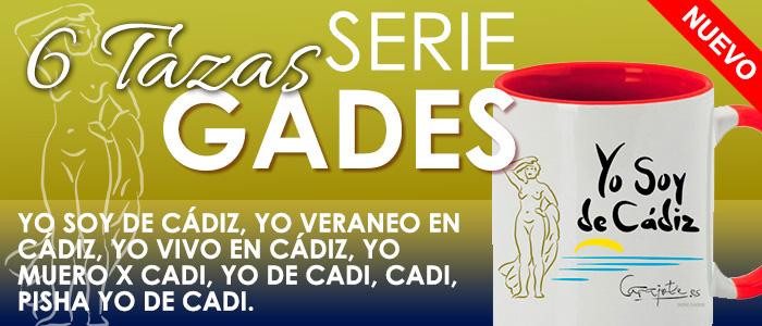 Nueva Serie Gades carajote.es Tazas personalizadas de regalo sobre Cádiz.