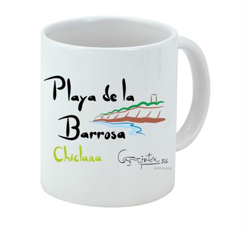 Taza PLAYAS Playa de la Barrosa Chiclana
