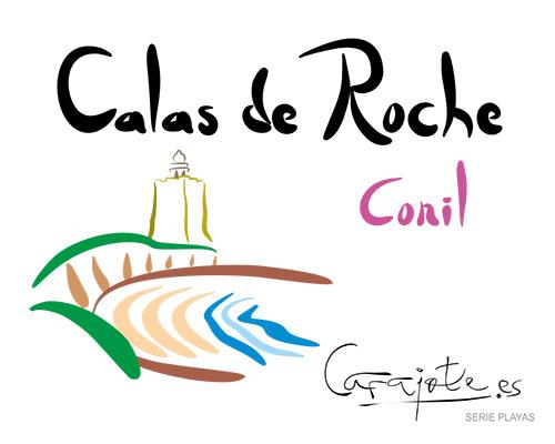 Taza PLAYAS Calas de Roche Conil