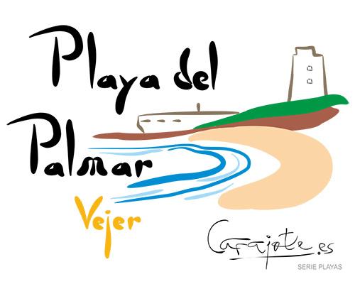 Taza PLAYAS Playa del Palmar Vejer