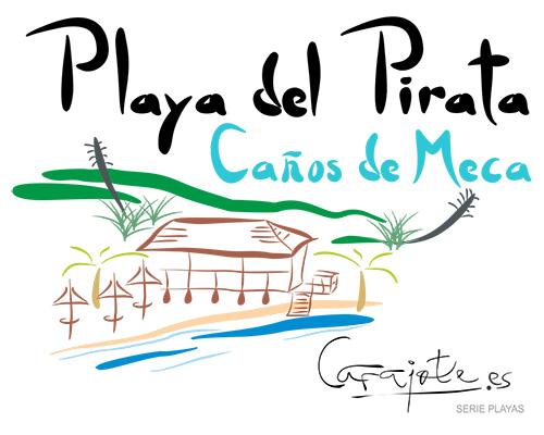 Taza PLAYAS Playa del Pirata Caños de Meca