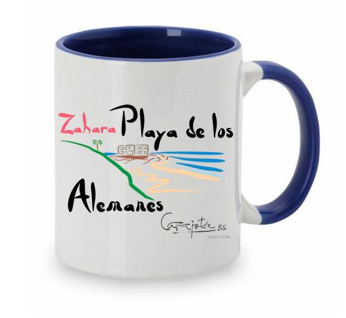 Taza PLAYAS Playa de los Alemanes Zahara