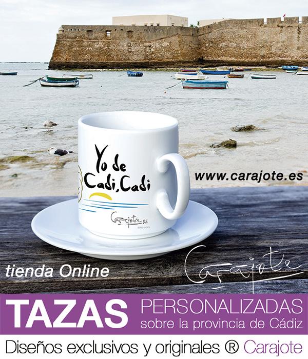 Carajote.es Tazas de Cádiz diseños exclusivos y personalizados