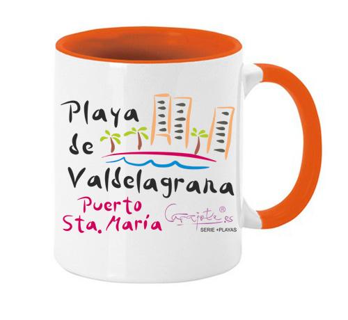 Taza serie +PLAYAS Playa de Valdelagrana Puerto de Santa María