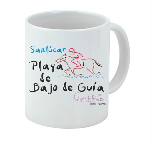 Taza serie +PLAYAS Playa de Bajo de Guía Sanlúcar de Barrameda