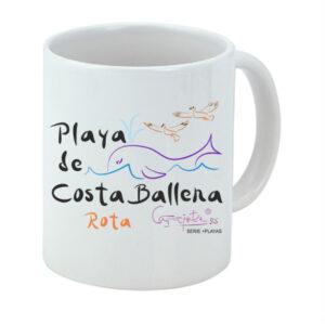 Taza serie +PLAYAS Playa de Costa Ballena Rota