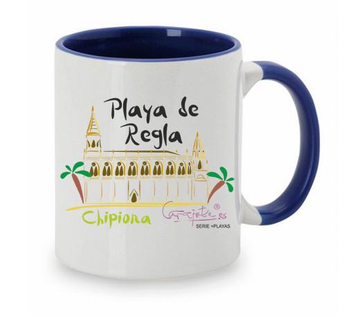 Taza serie +PLAYAS Playa de Regla Chipiona