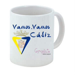 Taza serie CADIZCF Vamos Vamos Cádiz