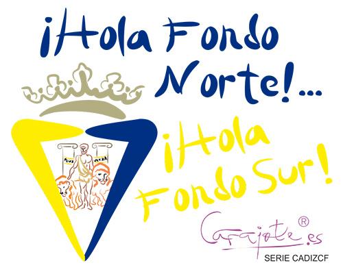 Taza serie CADIZCF ¡Hola Fondo Norte!¡Hola Fondo sur!