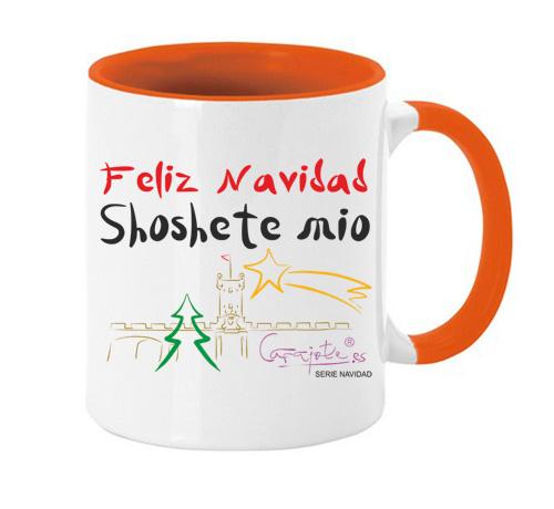 Taza serie NAVIDAD Feliz Navidad Shoshete mio