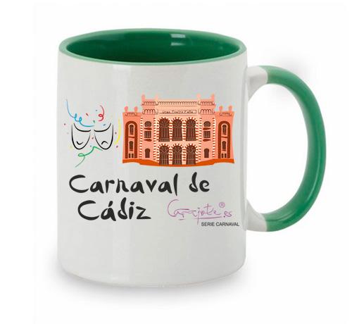 Taza serie CARNAVAL Carnaval de Cadiz