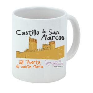 Taza serie PUERTO SANTA MARÍA Castillo de San Marcos