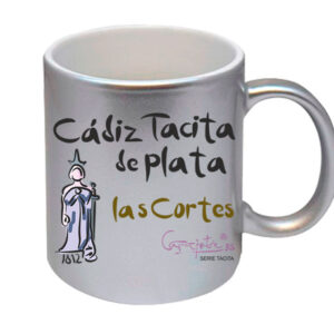 Taza serie CADIZ TACITA DE PLATA las Cortes