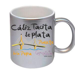 Taza serie CADIZ TACITA DE PLATA Puente de la Pepa