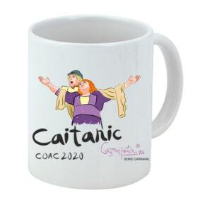 Taza serie CARNAVAL Cari resiste, Caitanic