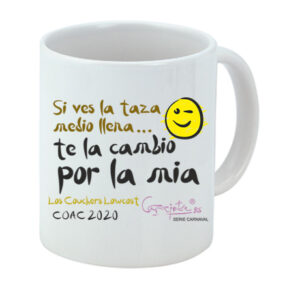 Taza serie CARNAVAL Los Couchers lowcost