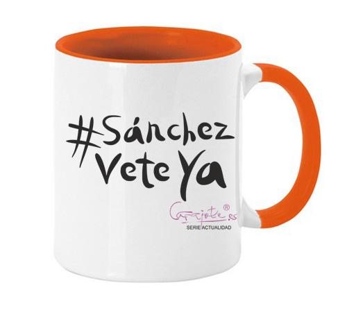 Taza serie ACTUALIDAD #sanchezveteya