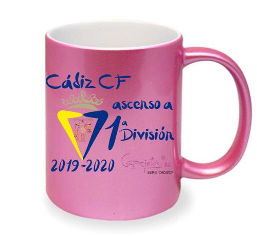 Taza serie CADIZ CF Ascenso a Primera División 2020