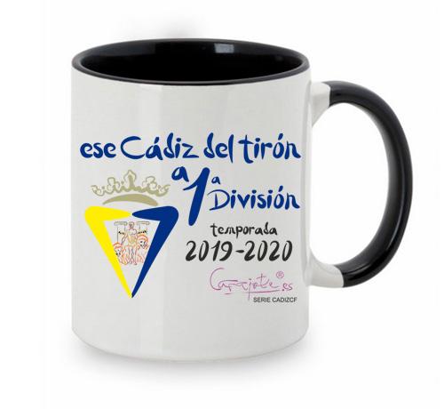 Taza serie CADIZ CF Ese Cadiz del tirón a Primera División 2020