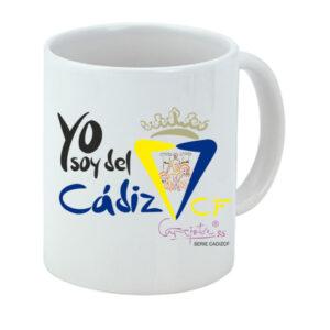 Taza serie CADIZ CF Yo soy del Cádiz