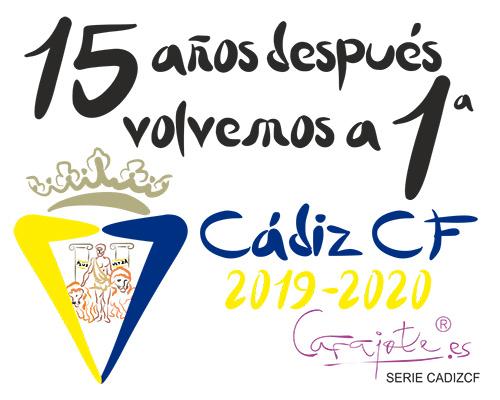 Taza serie CADIZ CF 15 años después volvemos a Primera 2020
