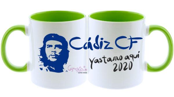 Taza serie CADIZ CF Che Guevara YastamosAquí 2020