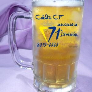 Jarra de Cerveza CADIZ CF Ascenso a Primera