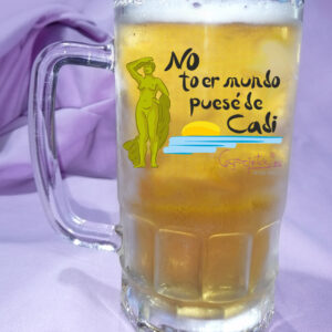 Jarra de Cerveza No to er mundo puesé de CADI