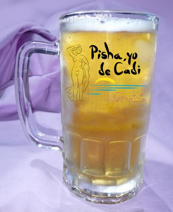 Jarra de Cerveza Pisha yo de CADI