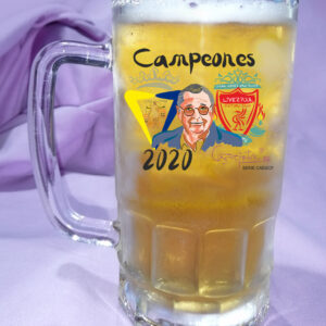 Jarra de Cerveza CADIZ CF Campeones Homenaje a Michael Robinson