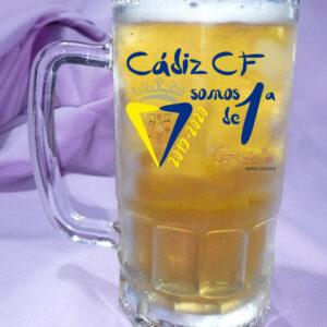 Jarra de Cerveza CADIZ CF Somos de Primera