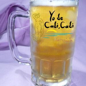 Jarra de Cerveza Yo de Cadi Cadi