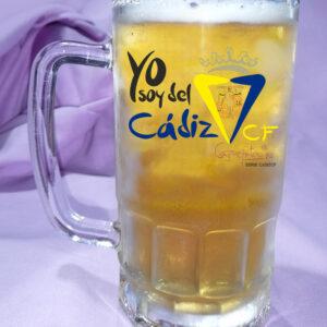 Jarra de Cerveza Yo soy del CADIZ CF